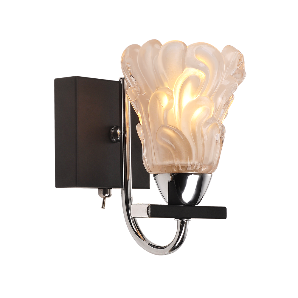 IDLamp IDLampБра с одной лампой IDLamp 217/1A-Blackchrome<br><br>Артикул: 217/1A-Blackchrome<br>Модель: 217