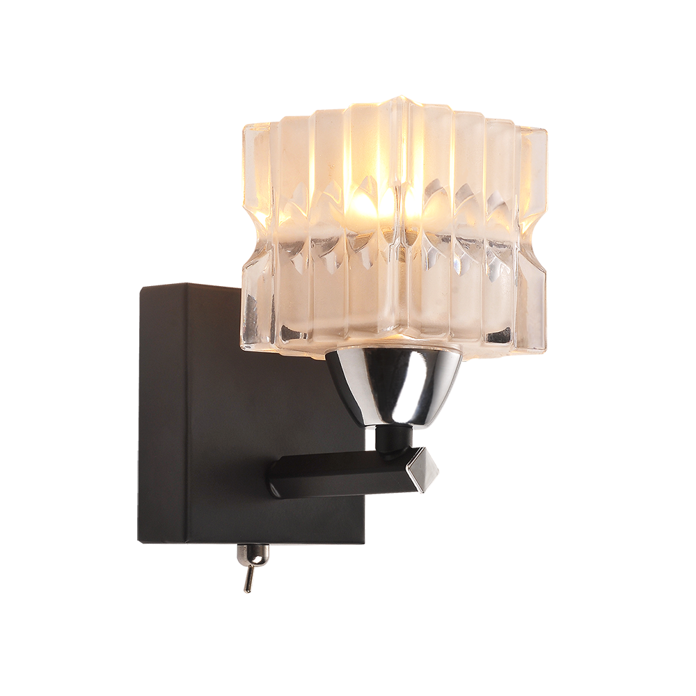 ID Lamp ID LampБра с одной лампой IDLamp 205/1A-Blackchrome<br><br>Артикул: 205/1A-Blackchrome<br>Модель: 205